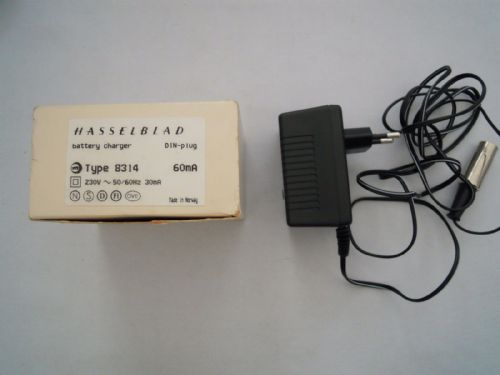 HASSELBLAD BATTERY CHARGER 8315 DIN PLUG 230V 50-60Hz